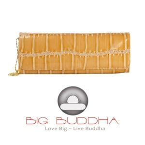 Big Buddha Vegan Skin Clutch